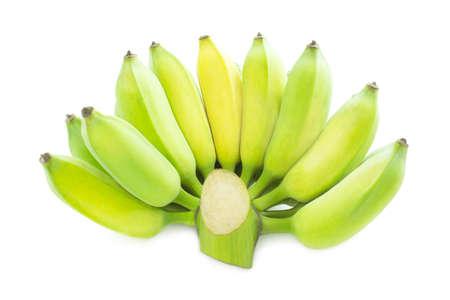 Banana on white backgroud fresh banana 版權商用圖片