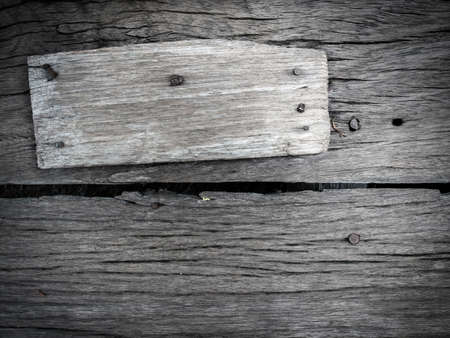 old sign: Old wood background texture sign space