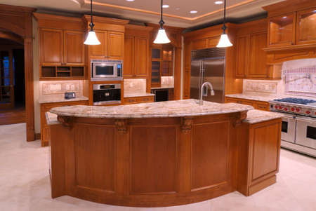 expensive granite: Luxury American Kitchen Series