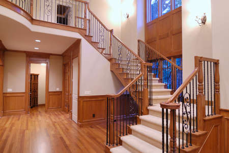 Large Stair Banco de Imagens
