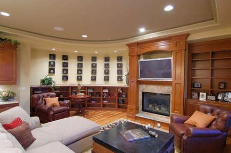 Luxury Living Room Foto de archivo