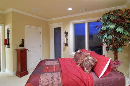 beautiful bedroom               Foto de archivo