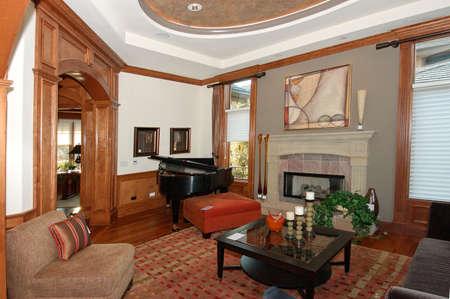 Living Room Foto de archivo