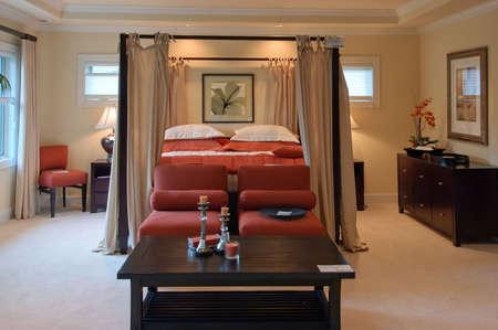 Master Bedroom Foto de archivo