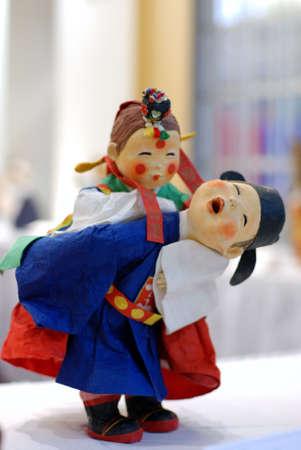 traditinal: Koreaan Traditinal Folk Arts, miniature dolls in traditional dress