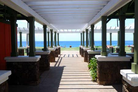 cabana: Green Beam Cabana