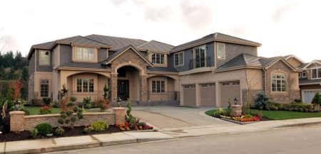 Luxury Homes Stock Photo