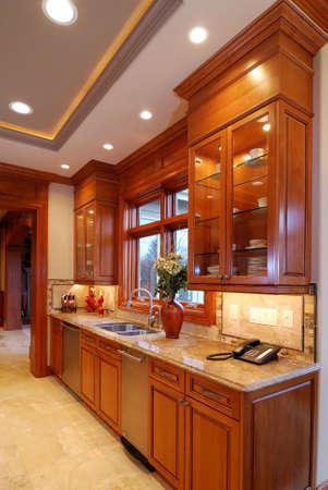Kitchen Cabinet Foto de archivo