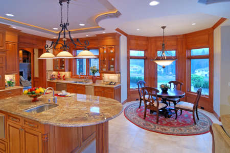 Open Kitchen Stock Photo