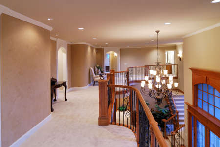 second floor: Hallway on the second floor