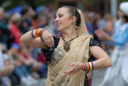 전통 인도 무용
