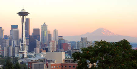 Downtown Seattle Sunset