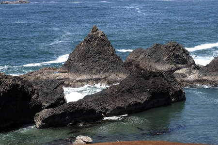 rock formation: Oregon Coast