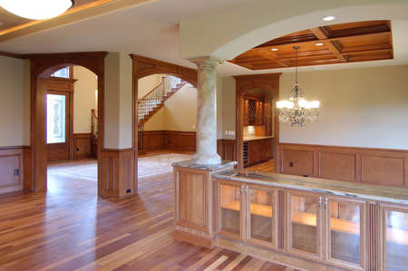 unfurnished:  Open space in the mansion