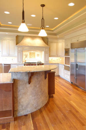 expensive granite:  Kitchen with granite counter