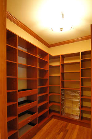 unfurnished:  cabinets