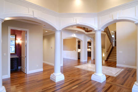 unfurnished: Hallway