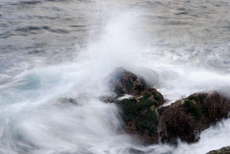 big sur: Water Splash at Big Sur