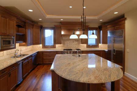 granite: Island Kitchen