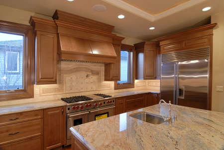 unfurnished: Granite Kitchen