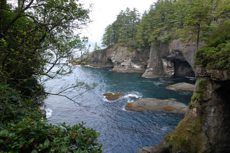 flattery: Cape Flattery at Neah Bay near sports competition National Park
