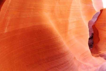 Precioso color y la forma en la Baja Ant�lope Foto de archivo - 3570371