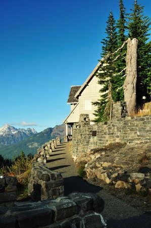 Visitor center at Mount Baker National Park
