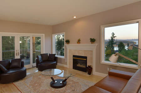 Living Room with Picture Window