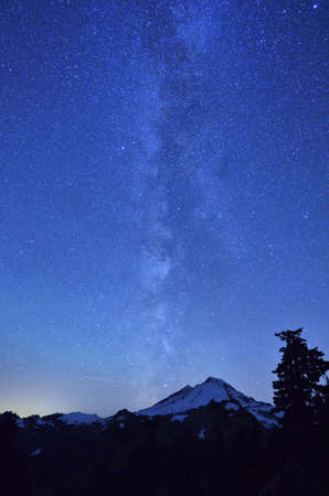 Milky Way at Mount Baker
