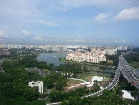 marina bay: Spectacular scenery of Singapore - Marina Bay view