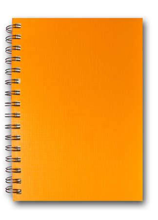 Orange Note Book Stock Photo - 9713912