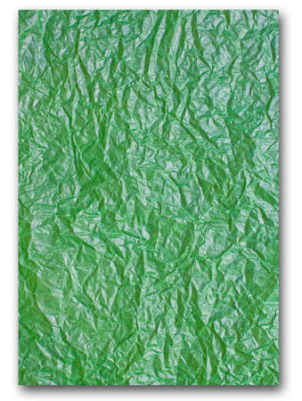 Green paper texture photo