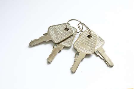key isolated on white Stock Photo - 9829969