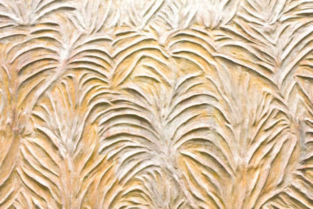 Pattern style on temple wall in Thailand Stock Photo - 10822519