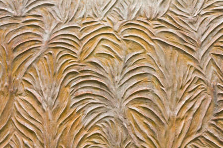 Pattern style on temple wall in Thailand Stock Photo - 10822544