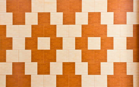 Pattern style on temple wall in Thailand photo