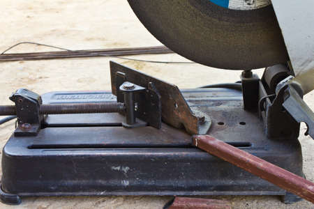 electric saw for metal cutting Stock Photo - 11738995
