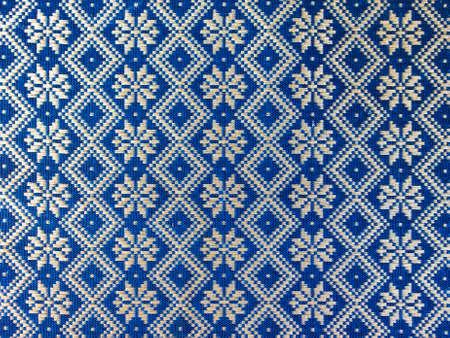 Style de motif tha�landais sur l'emballage en Tha�lande Banque d'images