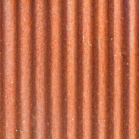 Corrosion of zinc metal roof for background photo