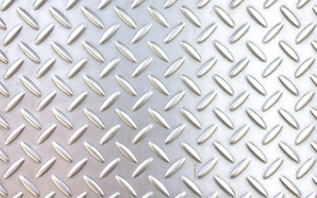 diamond plate: pattern style of steel floor for background Stock Photo
