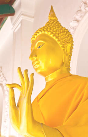 Golden buddha in the temple of Thailand Stock Photo - 12585035