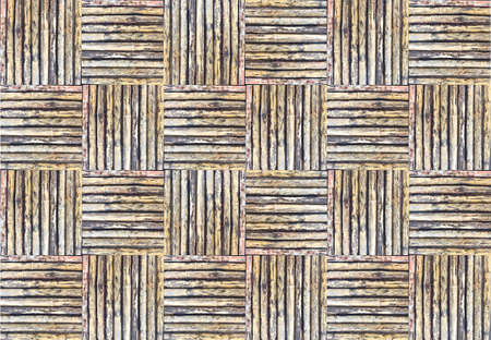 the old bamboo weave texture for background