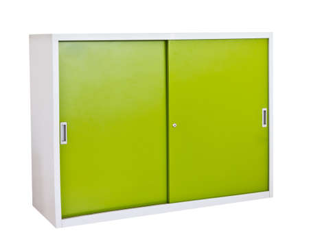 cabinet steel furniture in office