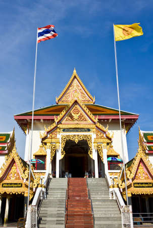 Wat Tai Nam the public temple in Thailand Stock Photo - 13670139