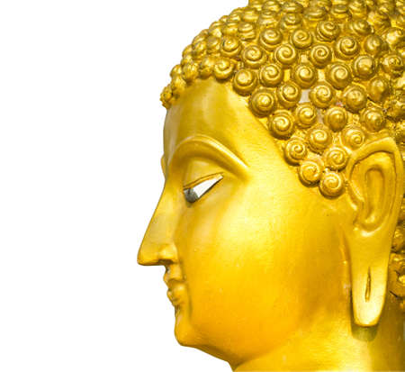 Close up of the Buddha face photo