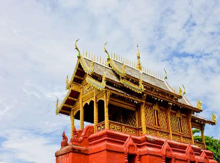 Wat phra that hariphunchai at Lamphun province, Thailand Stock Photo - 14217081