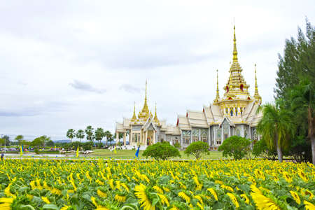 Wat Non Goom the public temple at Nakhon Ratchasima province, Thailand Stock Photo - 14856937