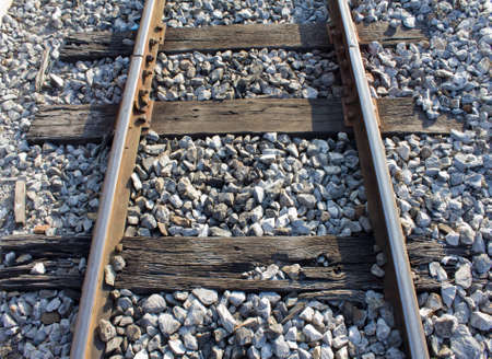 view above of railway in Thailand Stock Photo - 17106693