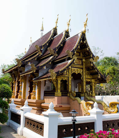 the public temple in Thailand