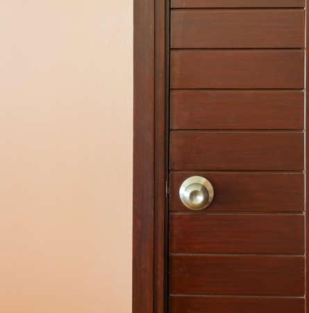 A steel door knob are locked photo